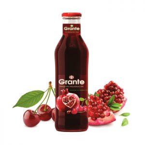 Granátovo-višňová šťáva