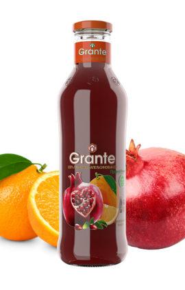 Granátovo-pomerančová šťáva